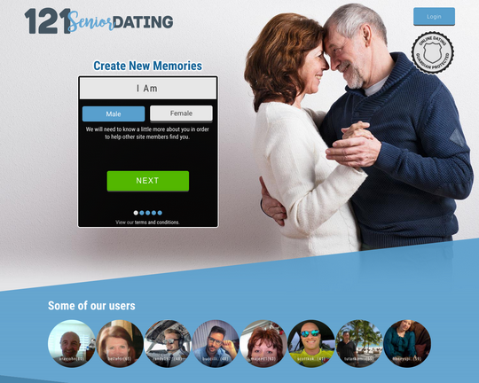 121 Senior Dating