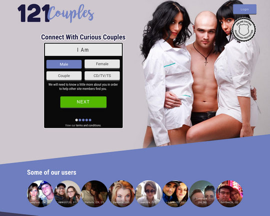 121 Couples Logo